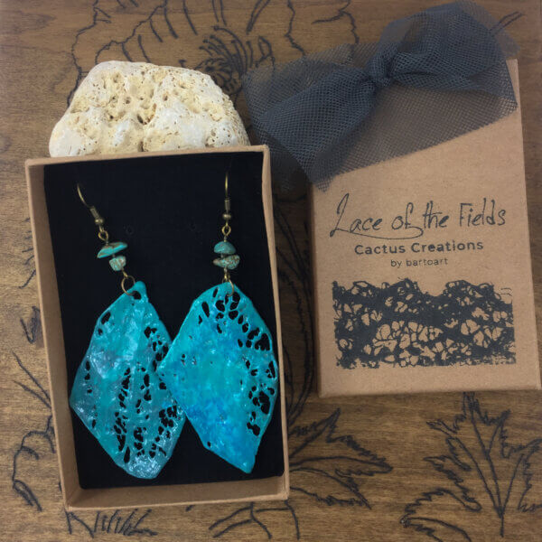 Lace of the Fields - Cactus Creations by bartoart